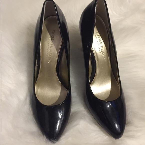 Christian Siriano Shoes   Black Heels
